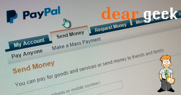 How to change your PayPal email address
